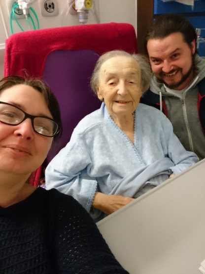 Me, My Nan and my 'little' Brother